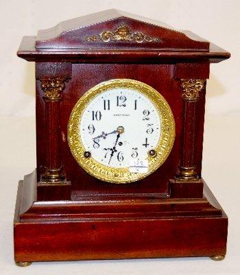86: Seth Thomas Fancy Small Mantel Clock