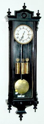 3 Weight Vienna Regulator Clock