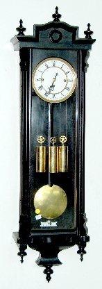 87A: 3 Weight Vienna Regulator Clock