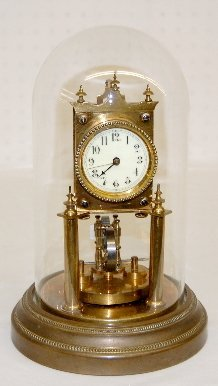 French 400 Day Compensated Dome Clock