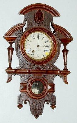 92A: George Jones Walnut Wall Clock