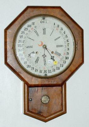 97: Gilbert Maranville Calendar Wall Clock