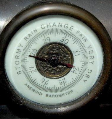 101A: Large Iron 3 Function Locomotive Clock - 7