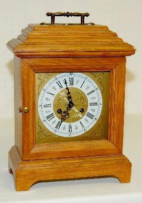 104: Franz Hermle Oak Bell Strike Clock