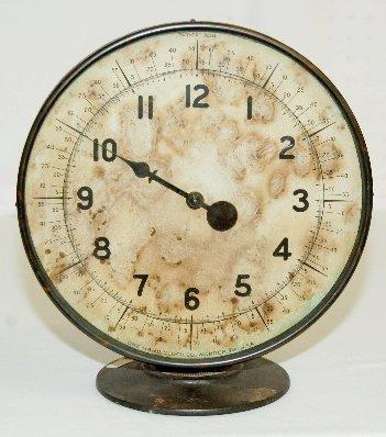 111: One Hand Clock Co. Shelf Clock