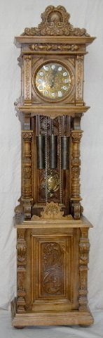 "150F: Gazo ""San Diegan"" Grandfather Clock"