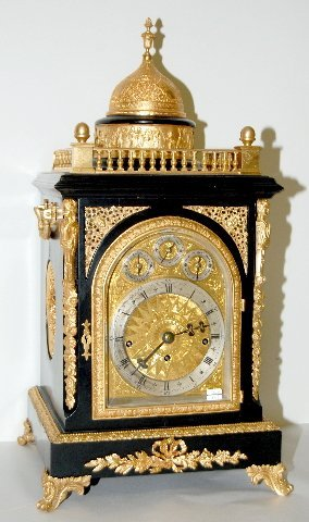 151: English Fusee Nesting Bell Bracket Clock