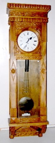 "151F: Gazo ""Encino"" Jeweler's Regulator Clock"