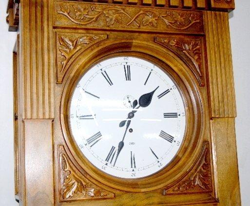 "151F: Gazo ""Encino"" Jeweler's Regulator Clock - 3"