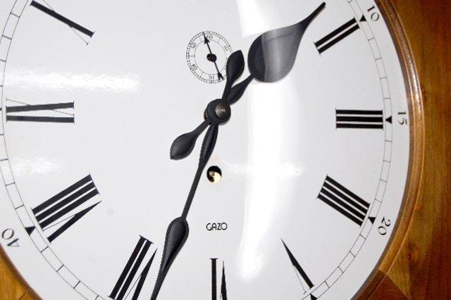 "151F: Gazo ""Encino"" Jeweler's Regulator Clock - 6"