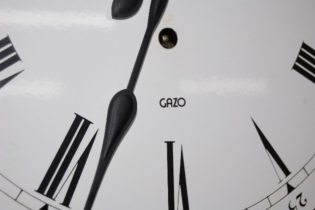 "151F: Gazo ""Encino"" Jeweler's Regulator Clock - 7"