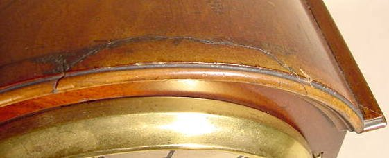 29: W&H English Bracket in Mahogany, 2 Gong Strike NR