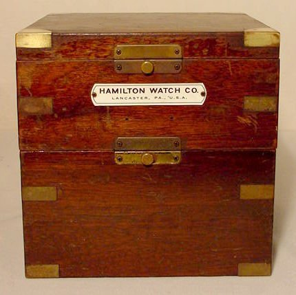 51: Hamilton Size 85 Ship's Chronometer 1941 NR