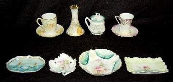 53: 8 Pieces RS Prussia, Germany & Unmarked China