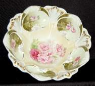 287: RS Prussia Floral Bowl, #79 Mold