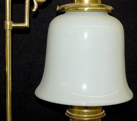 145: Aladdin 75th Anniversary Brass Student Lamp - 3