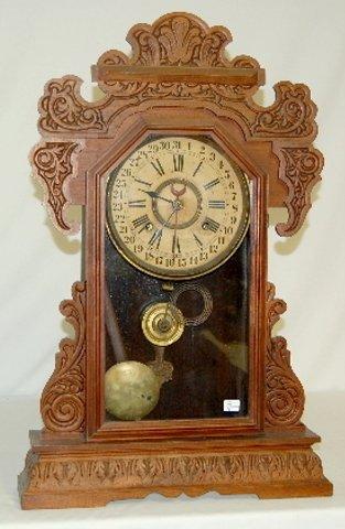 "2: Waterbury ""Rochester""Calendar Clock, T & S"