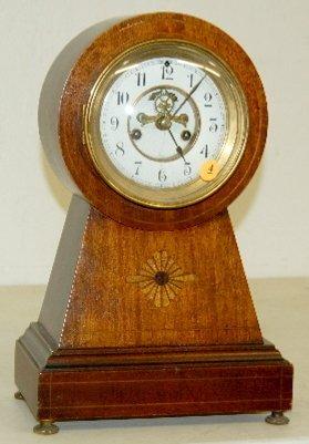 """4: Waterbury """"Surrey"""" Cabinet Clock, 8 Day"""