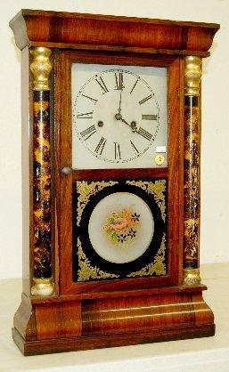 5: E.N. Welsh Half Splat Column Clock