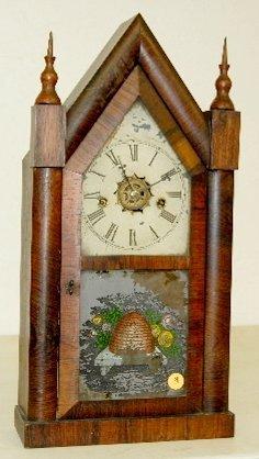 8: Waterbury Steeple Clock, T & S with Alarm