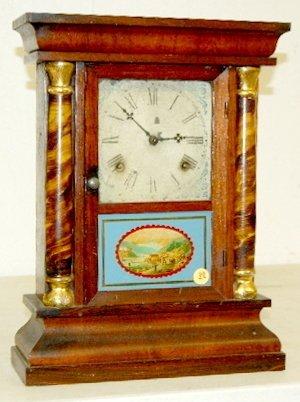 10: Waterbury Cottage Clock, 8 Day, T & S