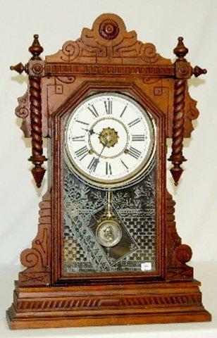 14: Kitchen Clock w/Time & Strike Alarm, 8 Day