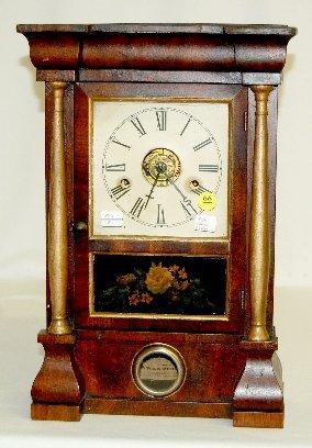 "17: Seth Thomas ""Bulls Eye"" Mini OG Clock, T & S"