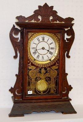 "21: Seth Thomas ""Newark"" City Series Shelf Clock"