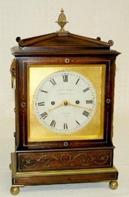 182: James McCabe English Bracket Clock, T & S