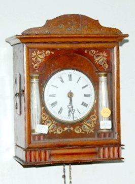 10A: Austrian 2 Weight Pendulette Clock