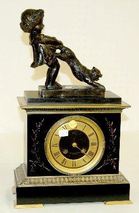 20A: French Slate Clock