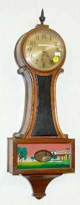 1: New Haven Welton Banjo Wall Clock