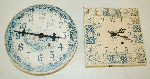 5: 2 S T Wall Clocks, Dutch Style Decoration