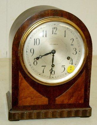 7: Seth Thomas #124 8 day Mantel Clock W/ Chime