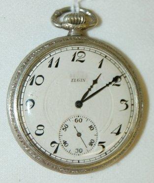 11: Elgin 17J S.N. 26311621 Pocket Watch