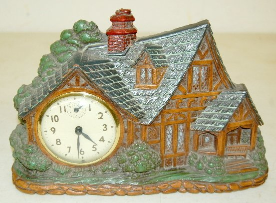 12: 3 Waterbury Lux & Crestwood Novelty Clocks - 4