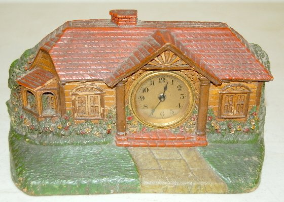 12: 3 Waterbury Lux & Crestwood Novelty Clocks - 5