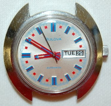 15: Bulova Automatic Wrist Watch, Circa 1972