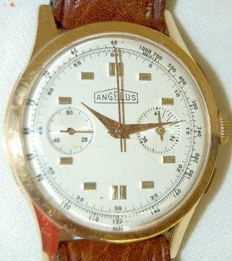 88: Angelus 18K Chronometer Wrist Watch