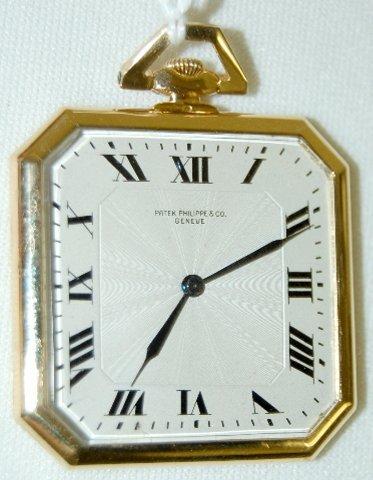 97: Patek Philippe & Cie 18K, No. 2330 Pocket Watch