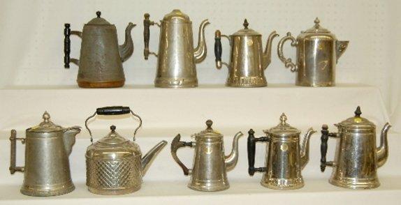 17: 9 Antique & Vintage Coffee Pots & Teapots