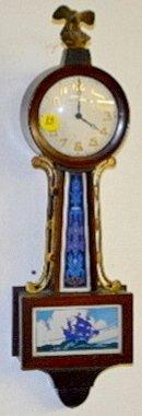 "New Haven Banjo Clock, ""Willis"""