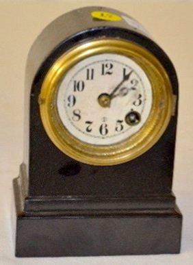 Terry Clock Co. Cast Iron Alarm Clock
