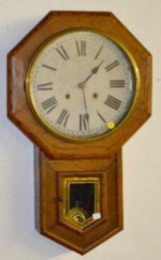 """Sessions 12"""" Drop Schoolhouse Octagon Clock"""