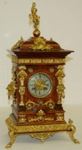 Lenzkirch Shelf  Clock with Cherubs