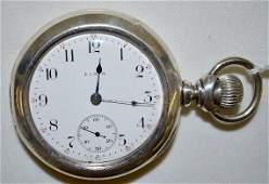 Elgin 15J 18S GM Wheeler OF Full Adj Pocket Watch