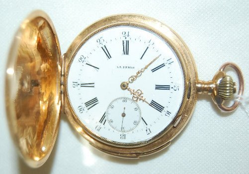 18K Gold 18S HC Minute Repeater Pocket Watch