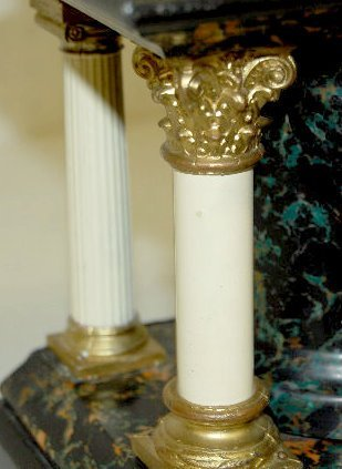 Seth Thomas Adamantine Column Mantel Clock - 3