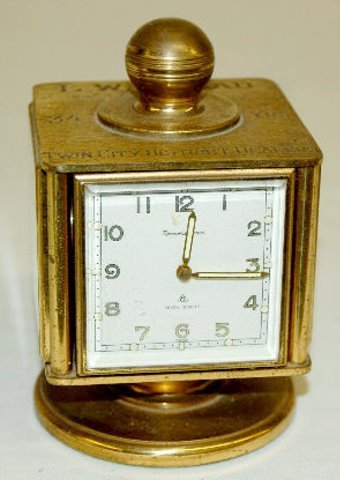 """Remembrance"" 8 Day, 7 Jewels Desk Clock"