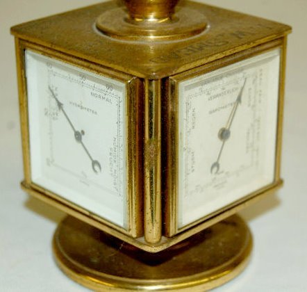 """Remembrance"" 8 Day, 7 Jewels Desk Clock  - 4"
